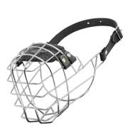 Wire Cage English Pointer Muzzle With One Strap