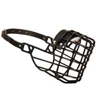 Frost-Resistant Wire Cage English Pointer Muzzle with One Adjustable Strap
