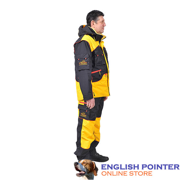 Dog Training Bite Suit with Back Pockets