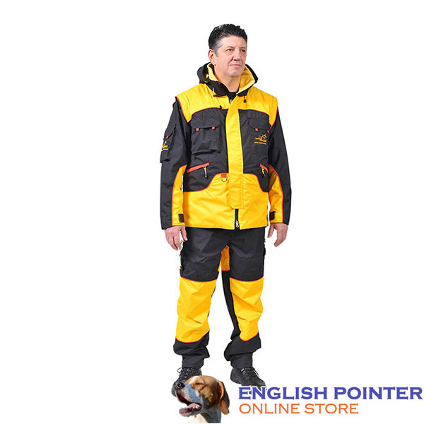 Pro Training Suit of Waterproof Membrane Material