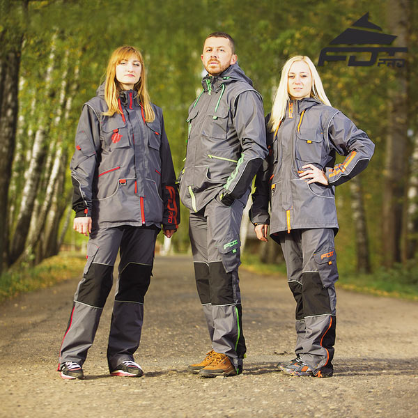 Reliable Dog Training Suit for Any Weather