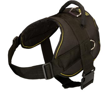 Nylon All Weather English Pointer Harness for Service Dogs