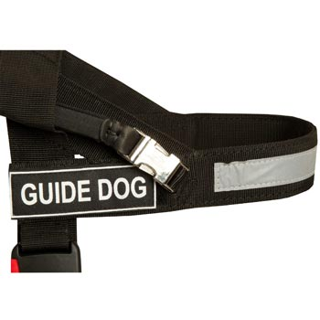 English Pointer Nylon Assistance Harness with Patches