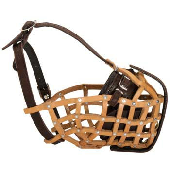 Basket English Pointer Muzzle for Military and Police Work